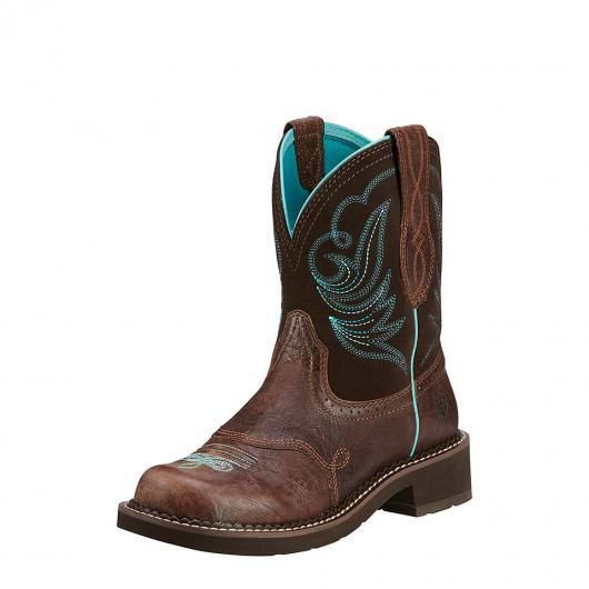 Ariat Damen Reitstiefel Fatbaby Dapper Chocolate