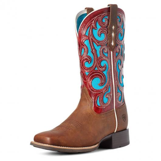 Ariat Damen Westernstiefel Karma Venttek Natural Crunch