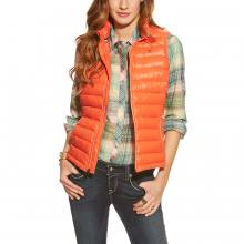 Ariat Ideal Down Vest red corral - Daunenweste