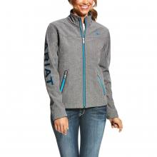 Ariat Women Team Softshell Jacke grey