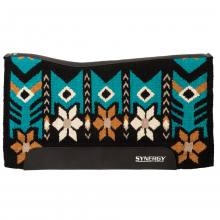Weaver Synergy Performer Pad Wildflower black-turquoise