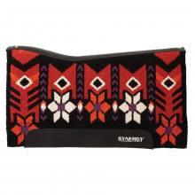 Weaver Synergy Performer Pad Wildflower black-darkred